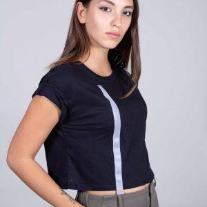 T-shirt con rifrangente