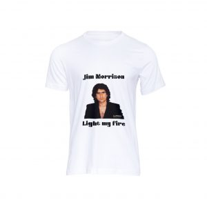 T-shirt Videografie Segnanti Jim Morrison