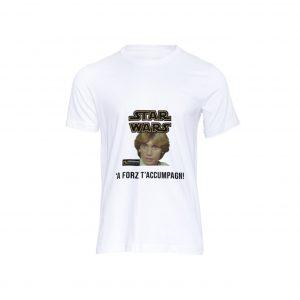 T-shirt Videografie Segnanti Luke Skywalker
