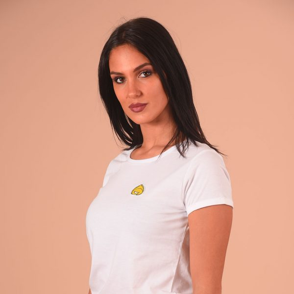 T-Shirts Donna con Patch Tortellino